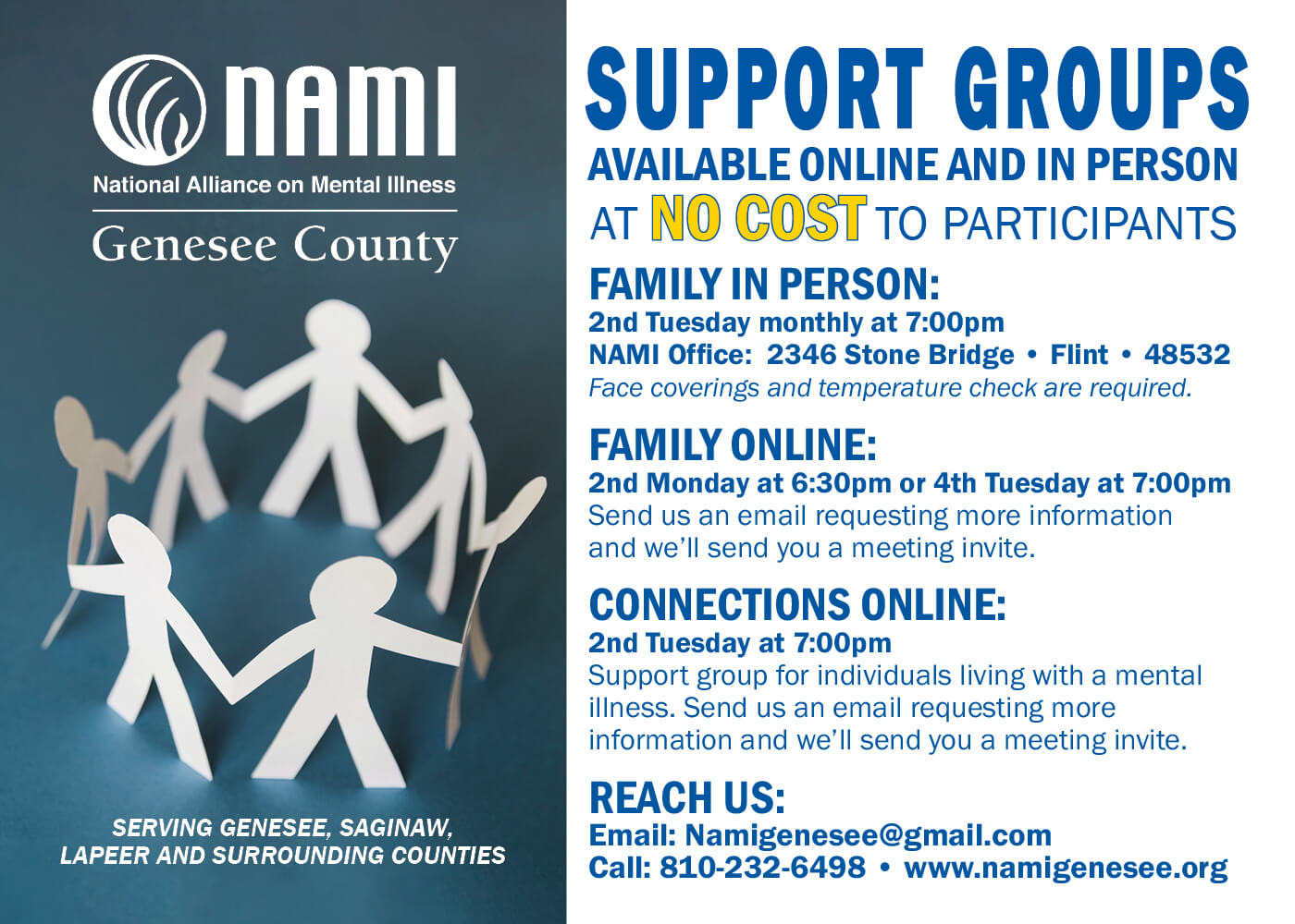Nami Support Group Pc